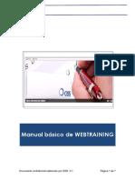 Manual Webtraining