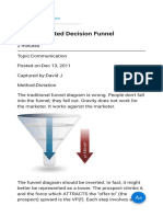 On the Inverted Decision Funnel