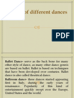 Nature of Different Dances (2)
