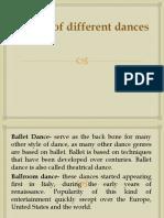 Nature of Different Dances (2)