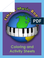 Ethans Music Room Coloring and Activity Pages for Web