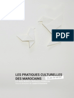 Enquête Sur Les Pratiques Culturelles Des Marocains