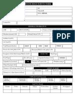 Survey Form OTELP