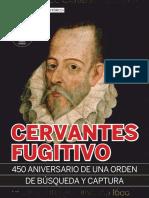Cervantes fugitivo (Clío)