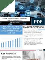 GLOBAL ADVANCED DRIVER ASSISTANCE SYSTEM (ADAS) MARKET