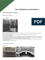 Computing Fundamentals Assignment