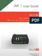 RT_UG_M1200_v.1.1.1 - Manual de Usuario