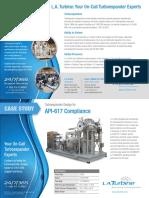 La Turbine Turboexpander Compressor Lat502ec