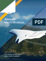 Aircraft Electrification