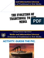 Media and Information Literacy-Lesson 2