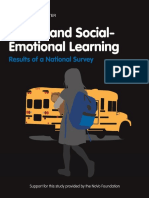 Spotlight-Safety and Social-Emotional Learning. National Survey