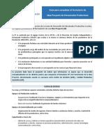 guía de formulación de proyectos