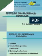 TEJIDO EPITELIAL CON PROPIEDADES ESPECIALES