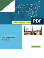 Tomas Vargas Harvard | Tips for First-Time Investors |Pdf