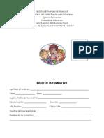 Formato de Boletin Maternal Mama Hipolita