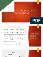Juegos de Música y Matemáticas