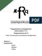 Guia U4 TecnicasFormulacionALGORITMOS