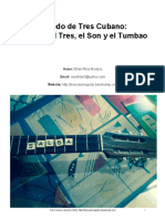 Efrain Rios - Cuban Tres Guitar Method & Music - Tres Cubano Metodo_Acerca Tres Son Tumbao_Efrain Rios 2015