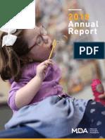 MDA Annual Report 2018