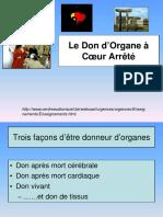 ATPB - Le don d'organe à coeur arrêté