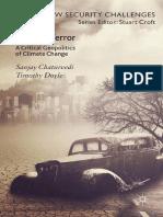 CHATURVEDI & DOYLE (2015) Critical Geopolitics Climate Change