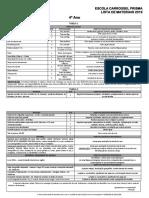Lista de Materiais Do 4º Ano---291018