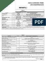 Lista de Materiais Infantil i ...291018
