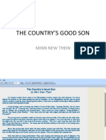 The Country's Good Son