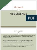 Chapter 6 - Negligence