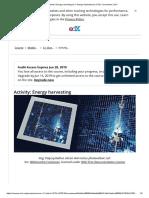 Activity_ Energy Harvesting _ 5.1 Design Implications _ IOT2x Courseware _ EdX