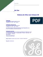 manual básico do usuário para ultrassom Voluson E8