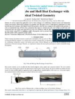 Elliptical Twisted Tube