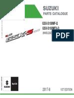 B. Part Catalog (Katalog Suku Cadang) GSX S150