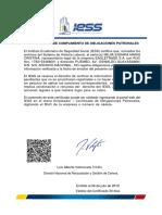 Certificado de Cumplimiento Opatronales