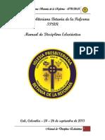 Manual de Disciplina Eclesiástica IPBR