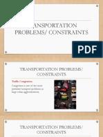 2 -Transportation Problems and Constraints.pdf