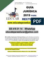 Guia Juridica Rectores