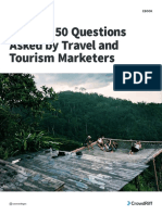 The Top 50 Questions Asked by Travel and Tourism Marketers