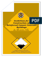 Guideline for Construction of RCC Building