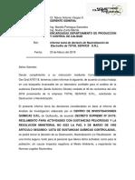 Informe Electrolito 22-03-2019