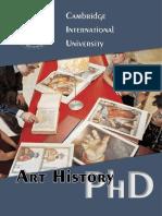 Art History PHD