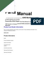 Manual de partes 420D
