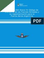 Codigo-de-disciplina para la fuerza aerea