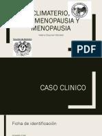 Climaterio, Premenopausia y Menopausia