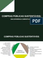 1 COMPRAS PÚBLICAS SUSTENTÁVEIS - Renato Cader .pps