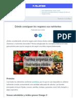 Www Petalatino Com Blog Guia Para Una Nutricion Vegana