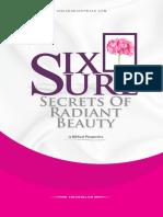 Six Sure Secrets of Radiant Beauty