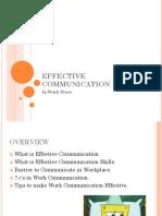 Effective Communication Java Lesson 1