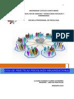 Guia de Practicas Ps. Organizacional 6to Semestre 2019 Cefg