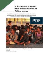 A Europa deve agir agora para acabar com as mortes evitáveis na Líbia e no mar.docx